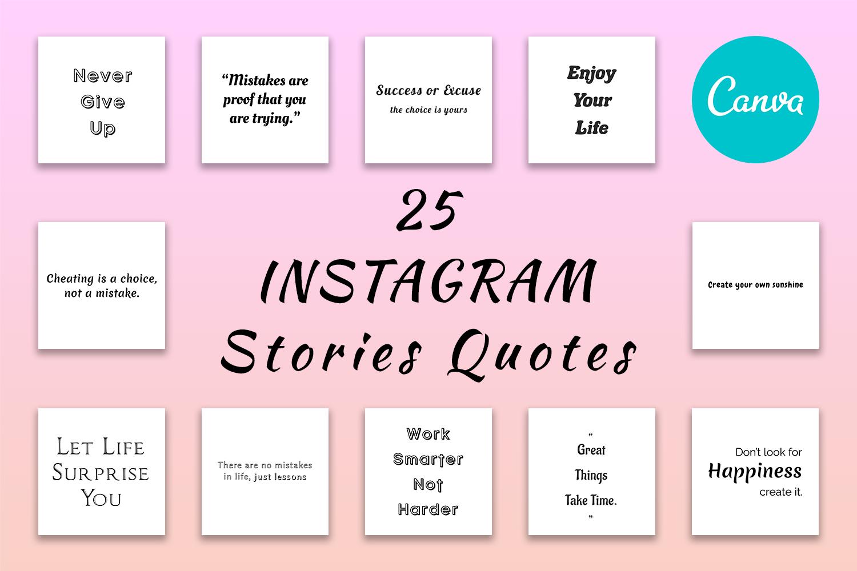 25 Insta Quotes - Feature Image -