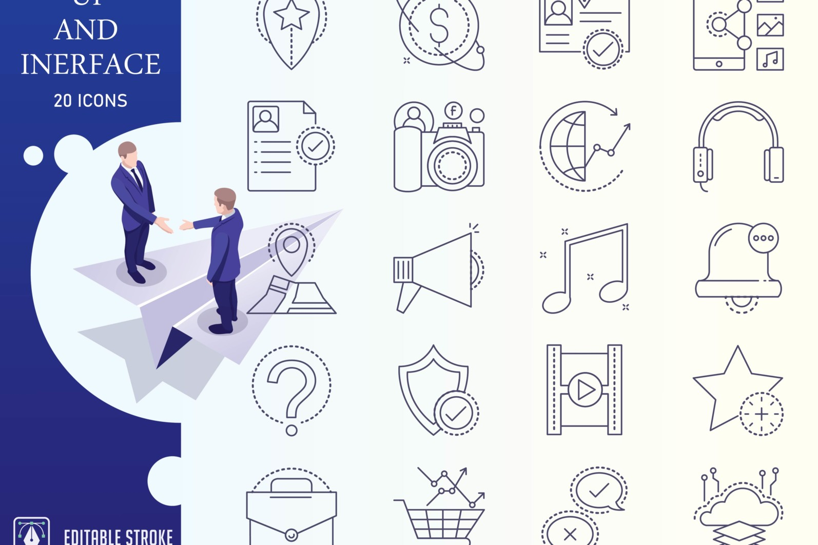 Outline : Ui And Interface Icon Set - UI Iconset Converted 01 scaled -