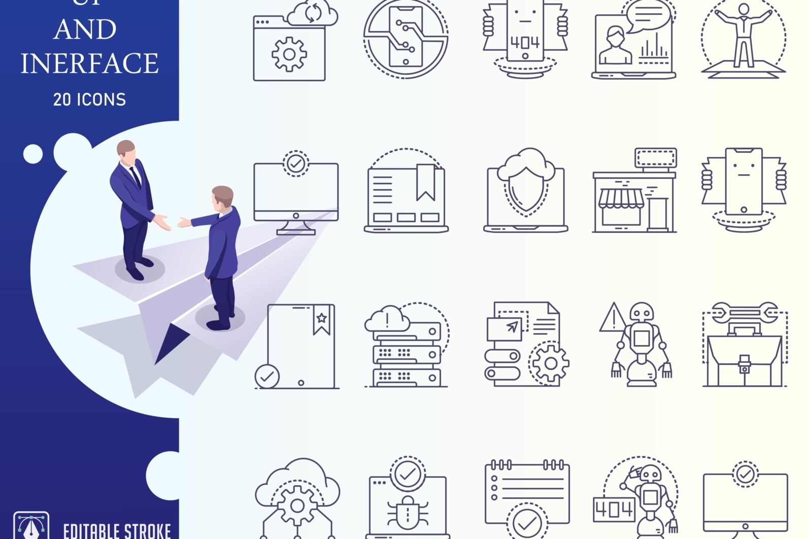Outline : Ui And Interface Icon Set - UI Iconset outline 01 scaled -