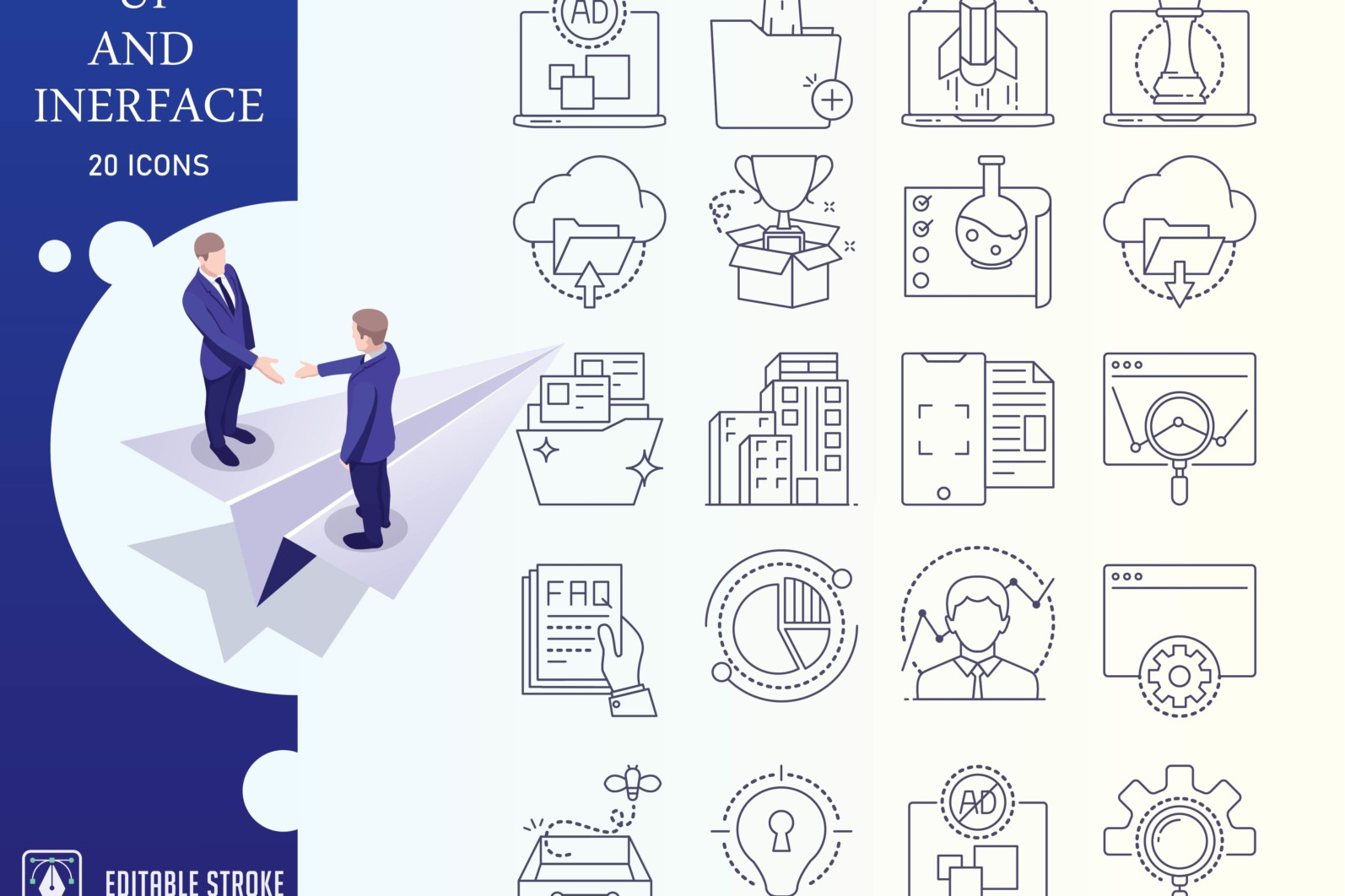 Outline : Ui And Interface Icon Set - UI Iconset outline 01 1 scaled -