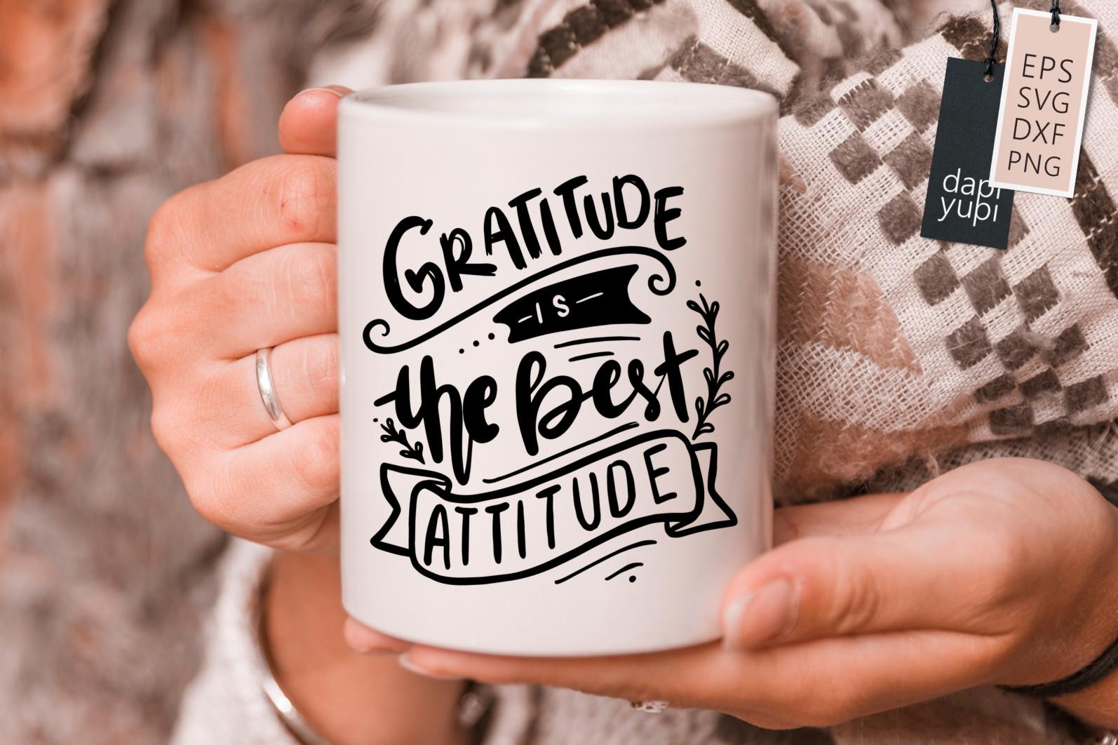 Gratitude Lettering Quotes Bundle Grateful SVG - grateful5s -