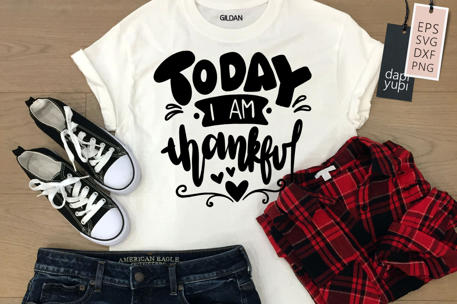 Gratitude Lettering Quotes Bundle Grateful SVG - grateful10 -