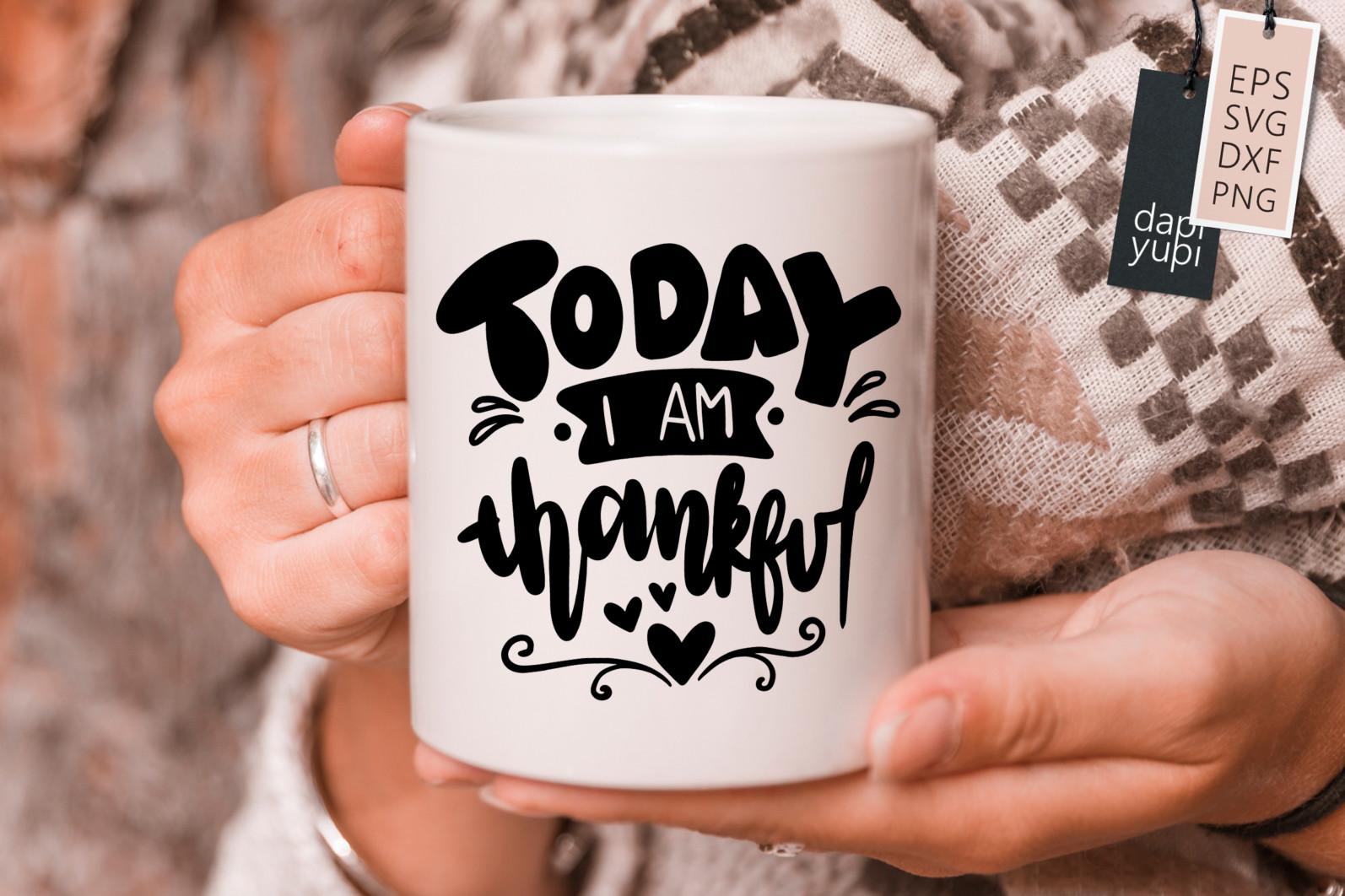 Gratitude Lettering Quotes Bundle Grateful SVG - grateful10s -