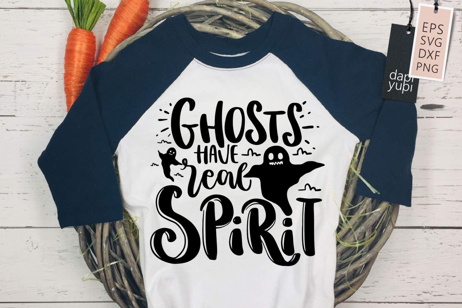 Halloween Quotes SVG Ghosts Have Real Spirit - halloween5 -