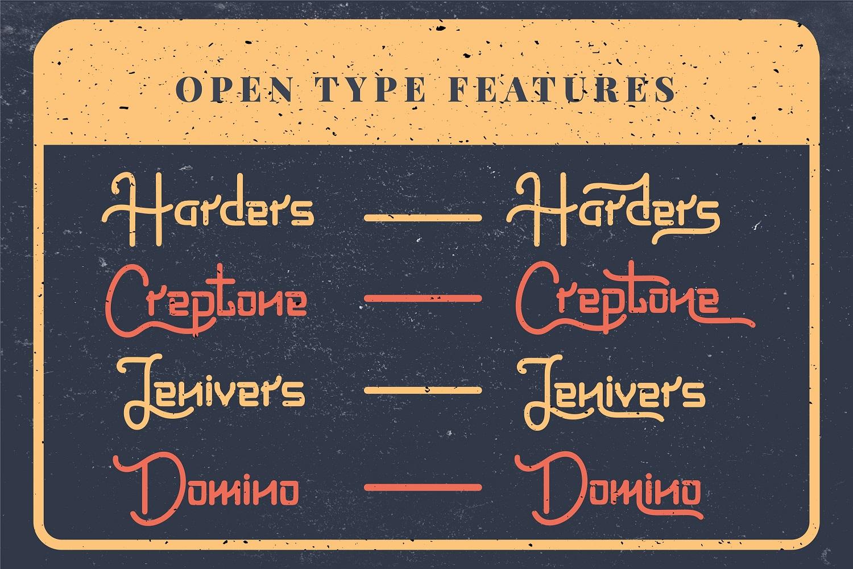 Loristta a Modern Monoline Font - 08 preview8 -