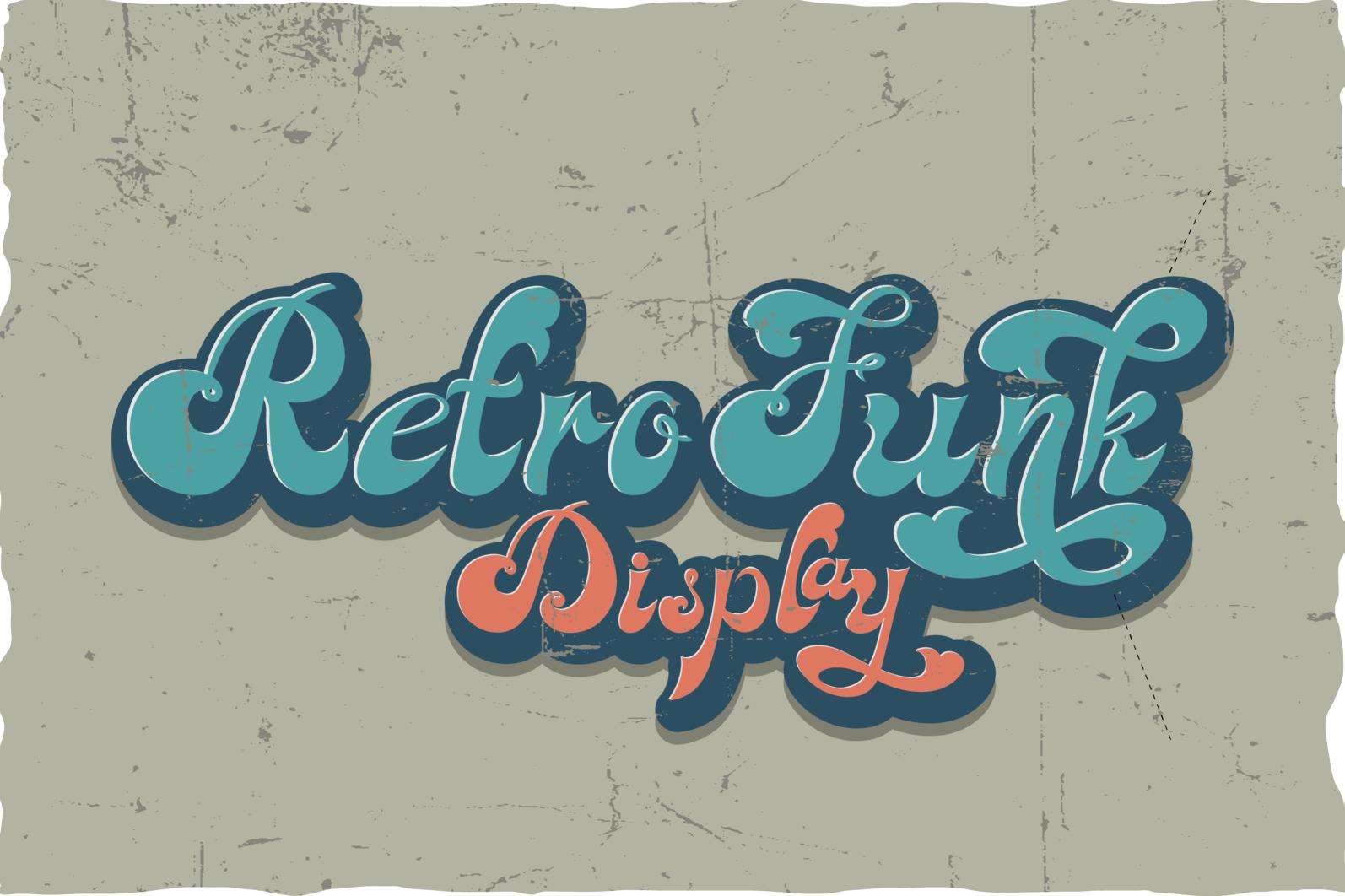 Achandria a Vintage Retro Font - 06 -
