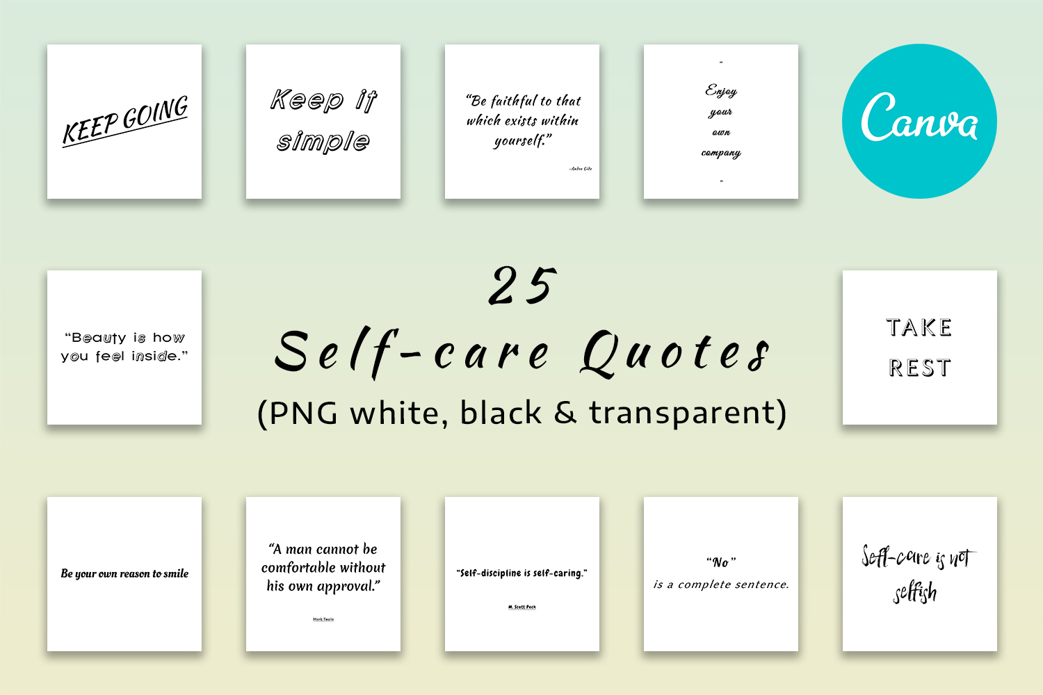 25 Self-Care Quotes - Feature Image 3 -