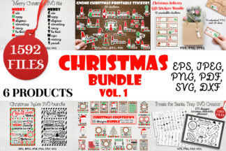 """<span style=""""display: none"""">SVG Bundles</span> - 1 Christmas svg bundle Christmas countdown svg Christmas stickers Gnome stickers packaging stickers Christmas sublimation Santa svg Merry Christmas svg -"""