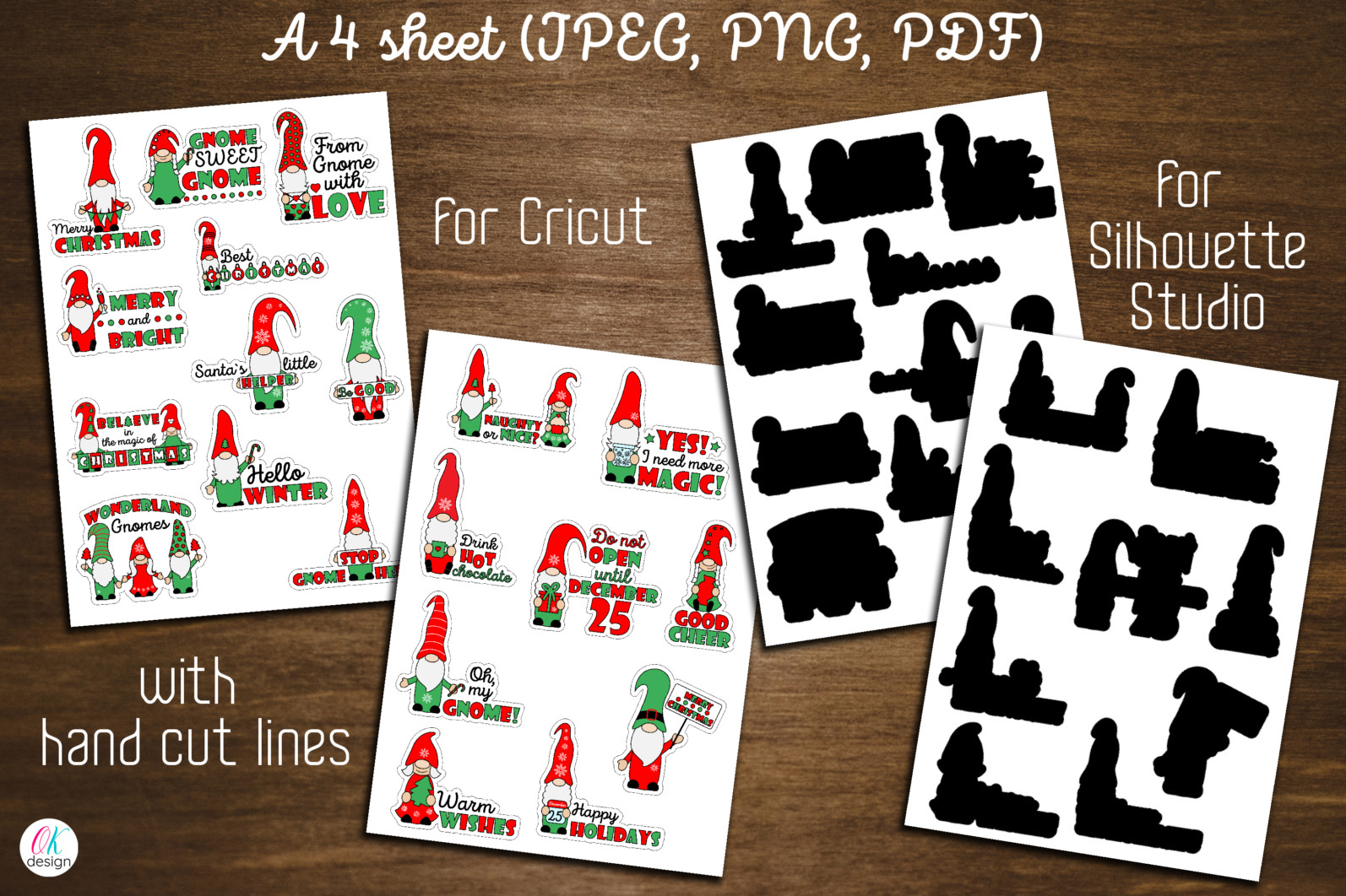 Christmas bundle Vol. 1. Christmas stickers. Christmas SVG bundle. - 20 Gnome Christmas bundle Christmas gnome sublimation Christmas stickers gnome Christmas stickers Christmas gnome stickers Gnome stickers print and cut stickers scaled -