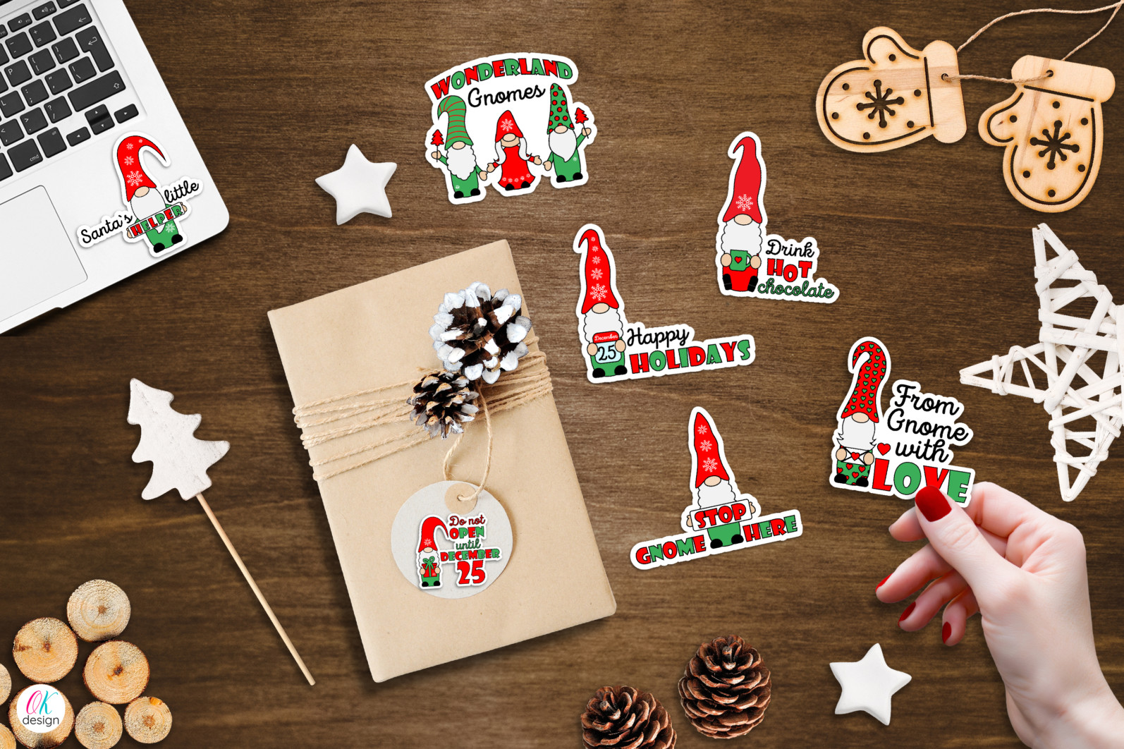 Christmas bundle Vol. 1. Christmas stickers. Christmas SVG bundle. - 21 Gnome Christmas bundle Christmas gnome sublimation Christmas stickers gnome Christmas stickers Christmas gnome stickers Gnome stickers print and cut stickers scaled -
