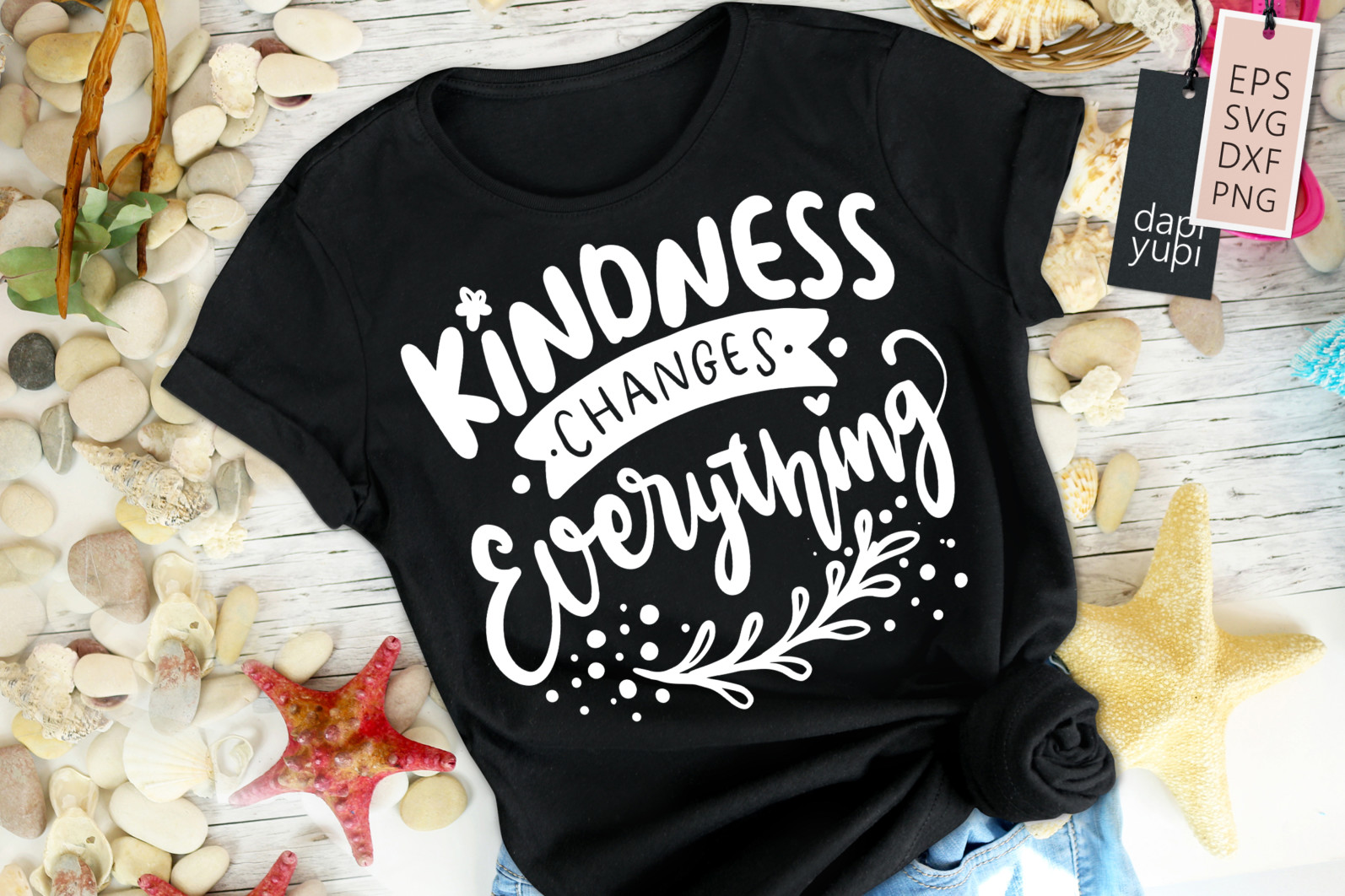 Kindness Lettering Quotes SVG Kindness Changes Everything - kindness8 -