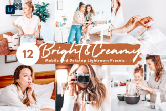 Iphone Ready Lightroom Presets - Lightroom Presets Mobile Desktop Bright Creamy -