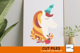 Free SVG Files - preview unicorn 1 -