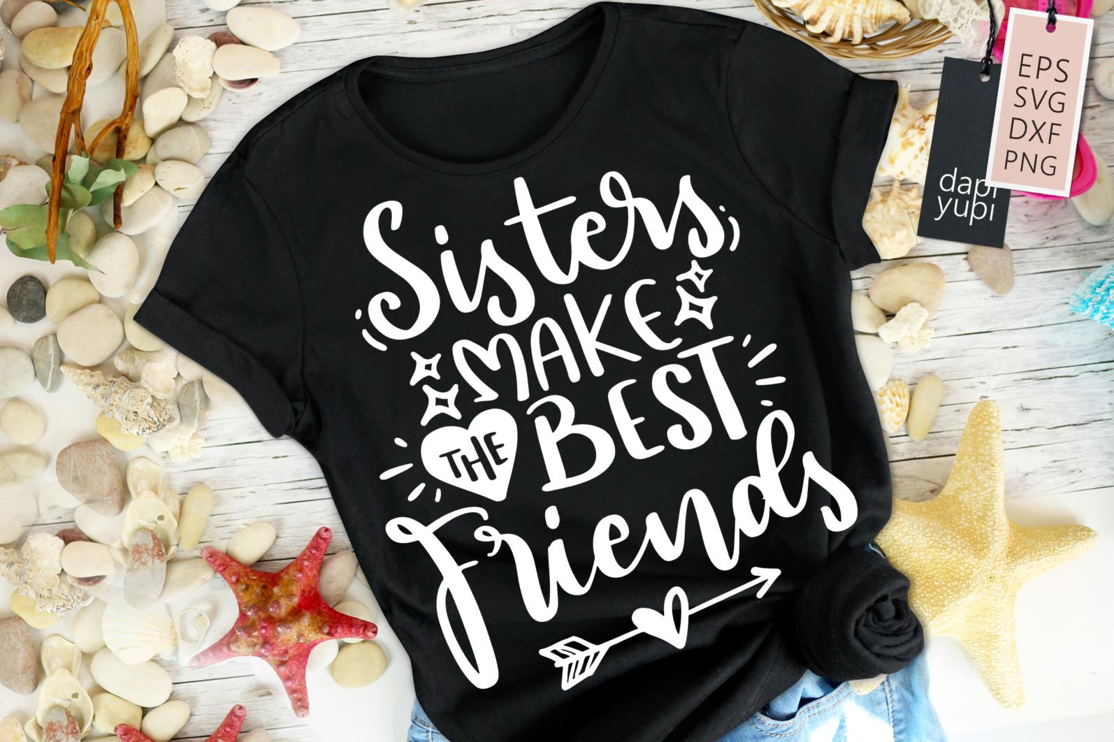 Sister Quotes SVG Bundle, Best Sister SVG Bundle, Sister SVG - sister9 -
