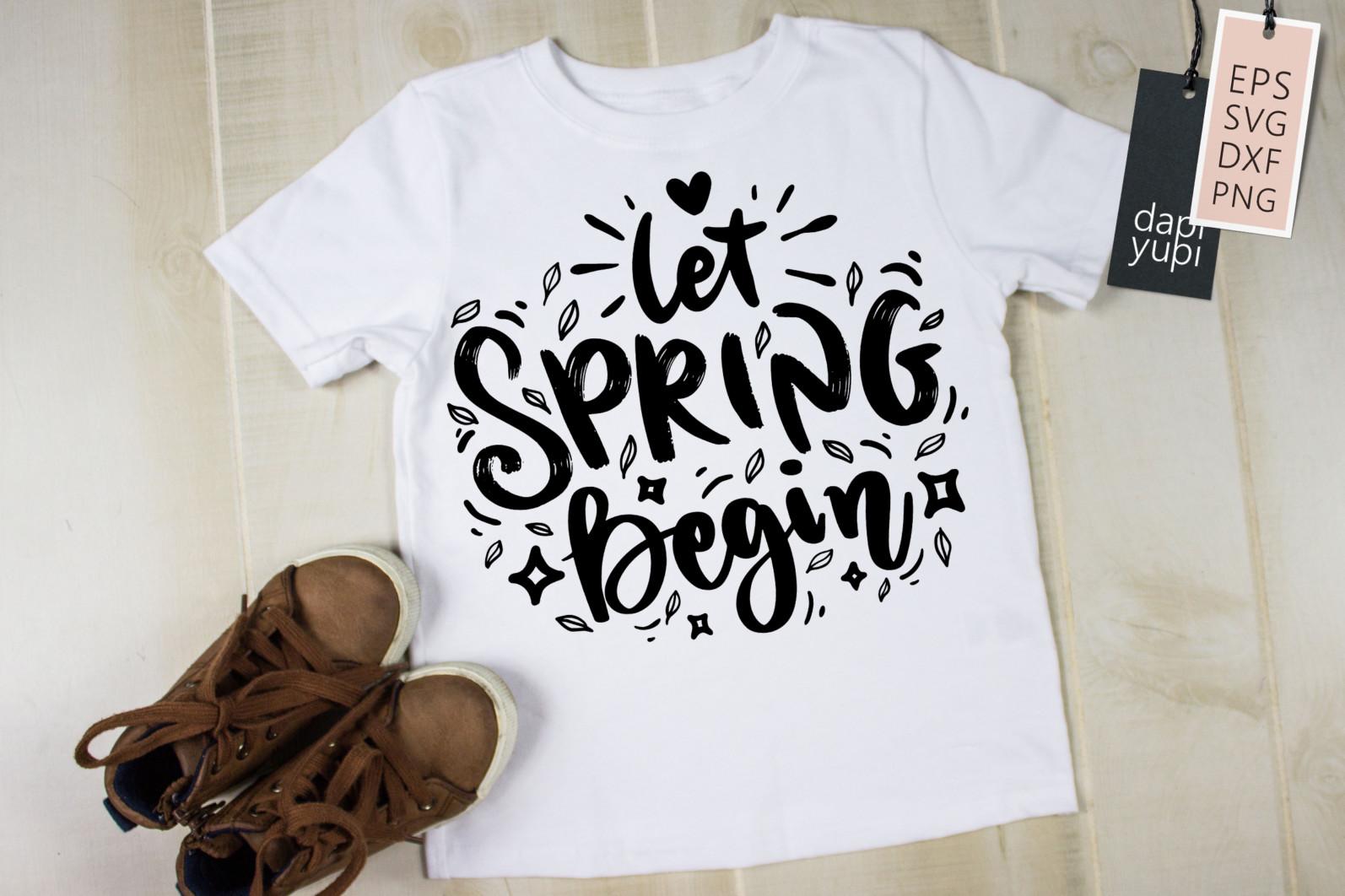 Spring Lettering Quotes Bundle SVG - spring4 -