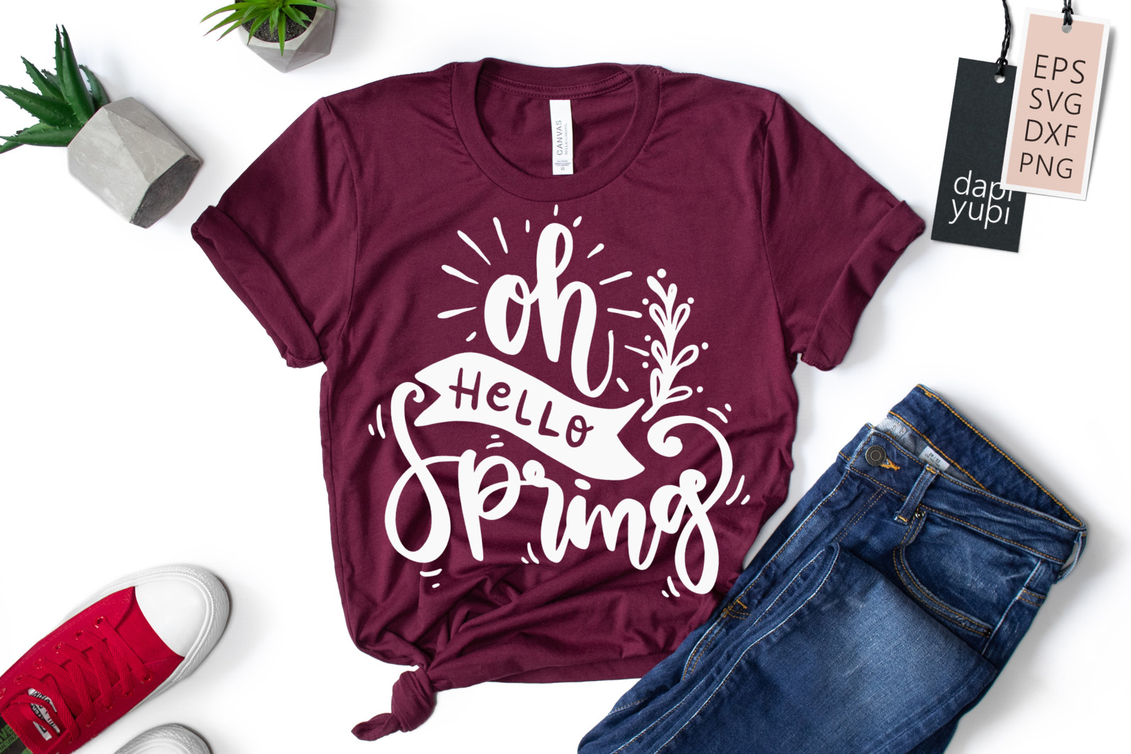 Spring Lettering Quotes Bundle SVG - spring6a -
