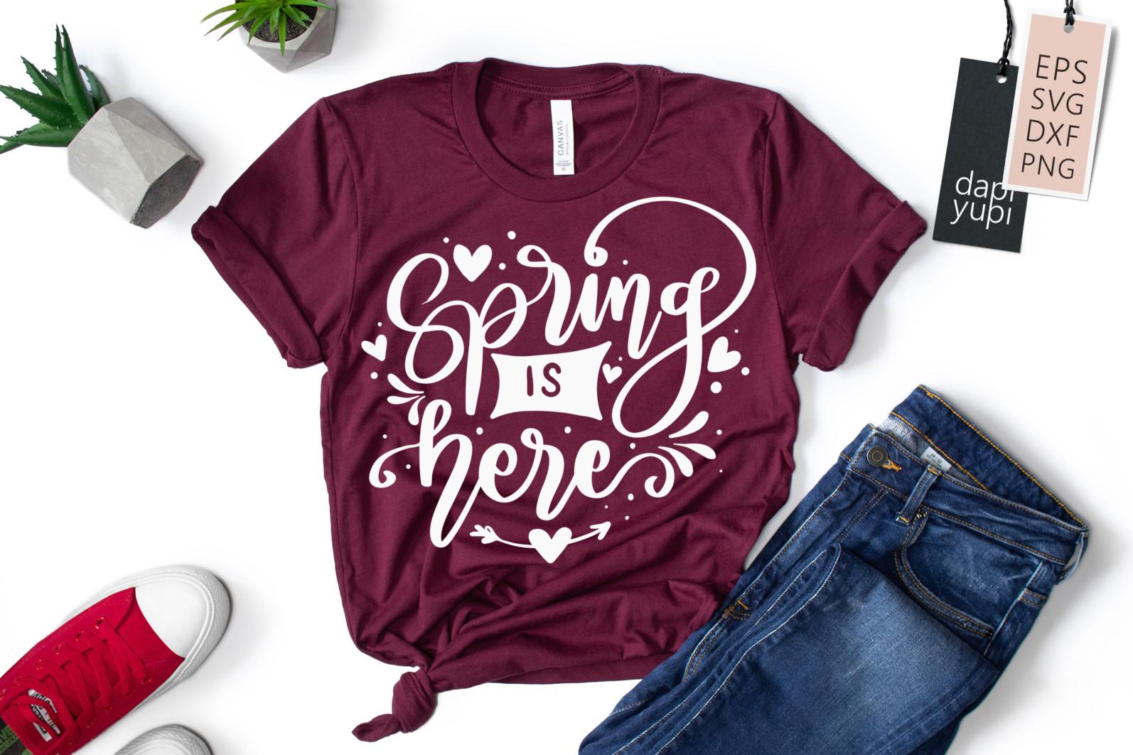 Spring Lettering Quotes Bundle SVG - spring7 -