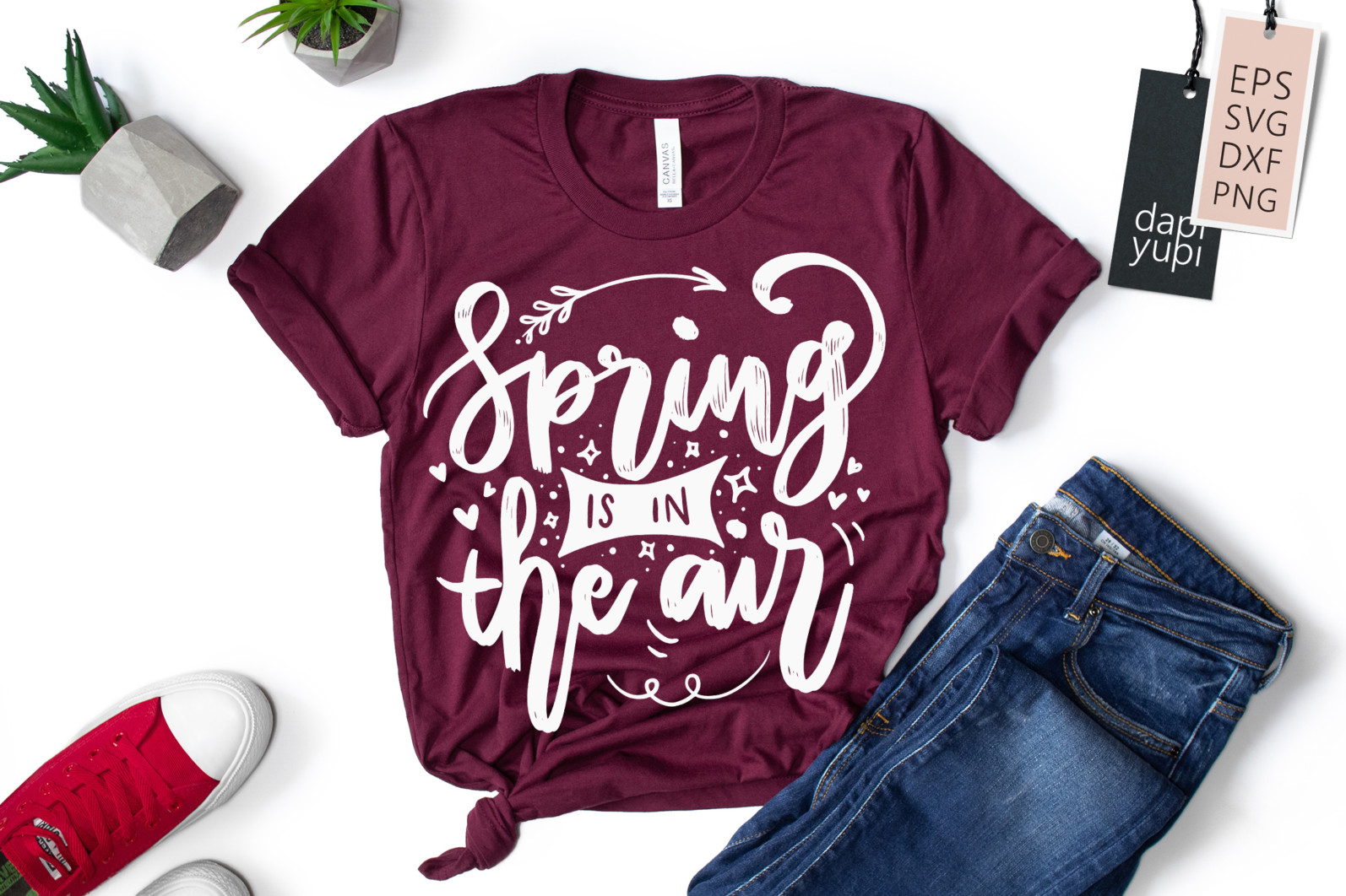 Spring Lettering Quotes Bundle SVG - spring8a -