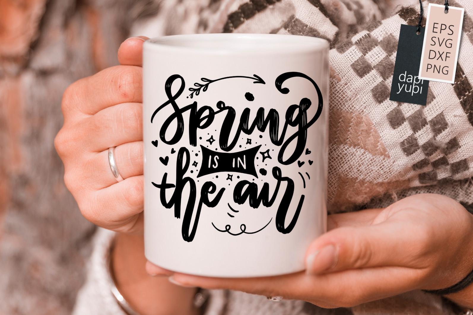 Spring Lettering Quotes Bundle SVG - spring8s -