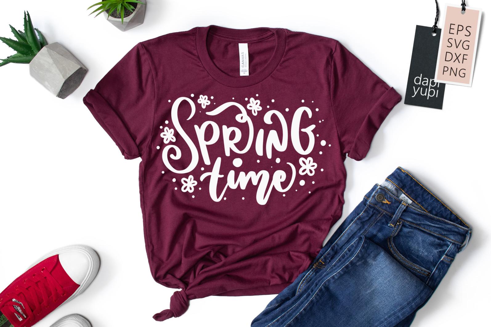 Spring Lettering Quotes Bundle SVG - spring9 -