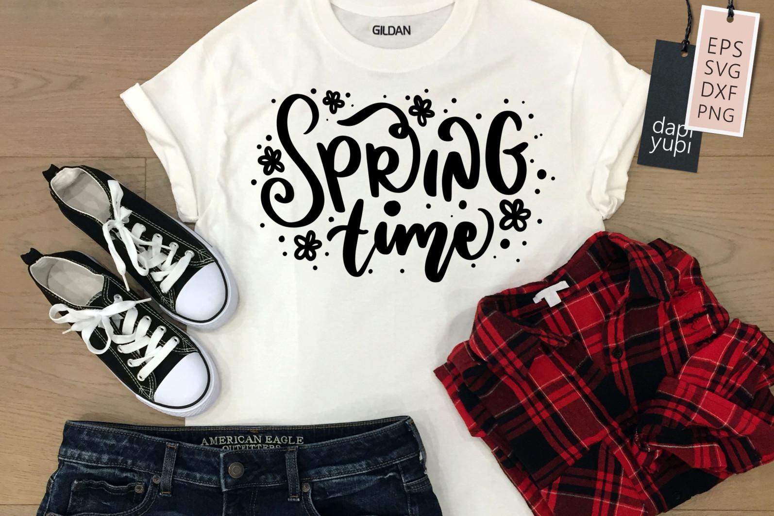 Spring Lettering Quotes Bundle SVG - spring9a -