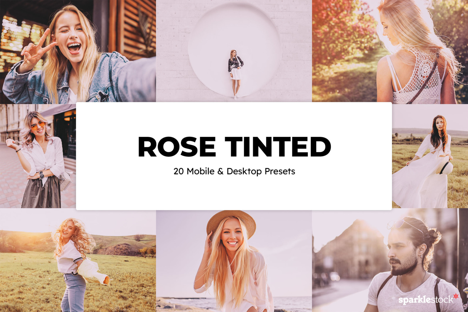 20 Rose Tinted Lightroom Presets and LUTs - 01 8 -