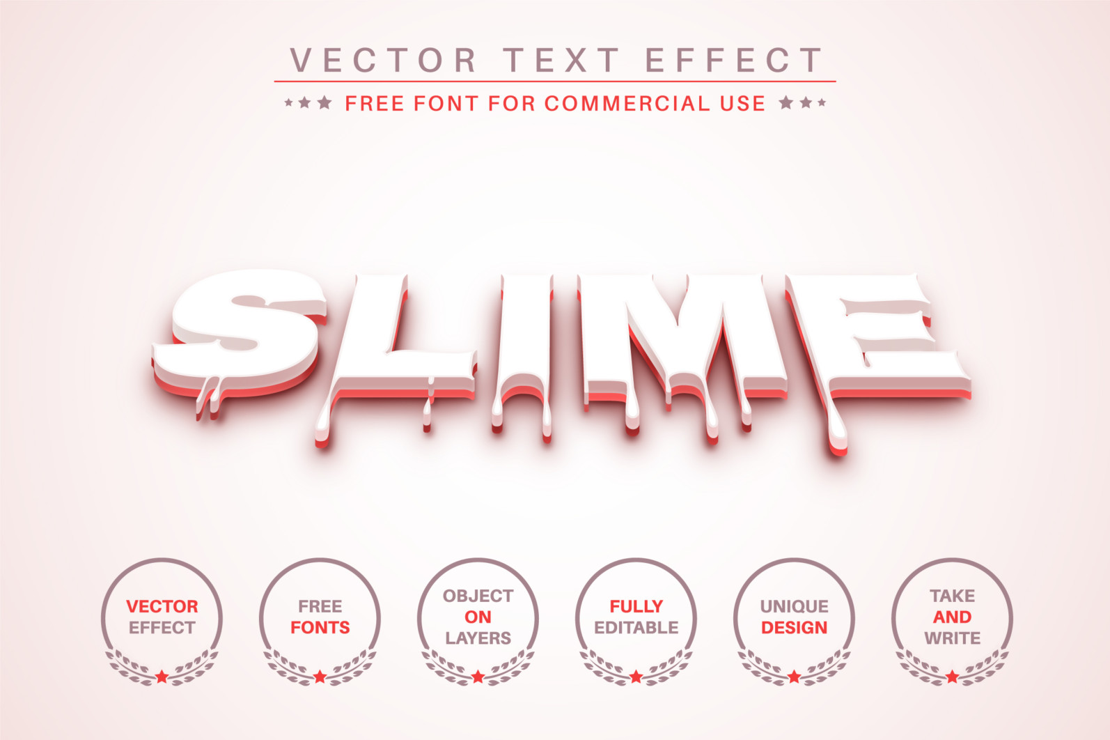 Blood Slime - Editable Text Effect, Font Style - 362 blood 3d 2340X1560 -