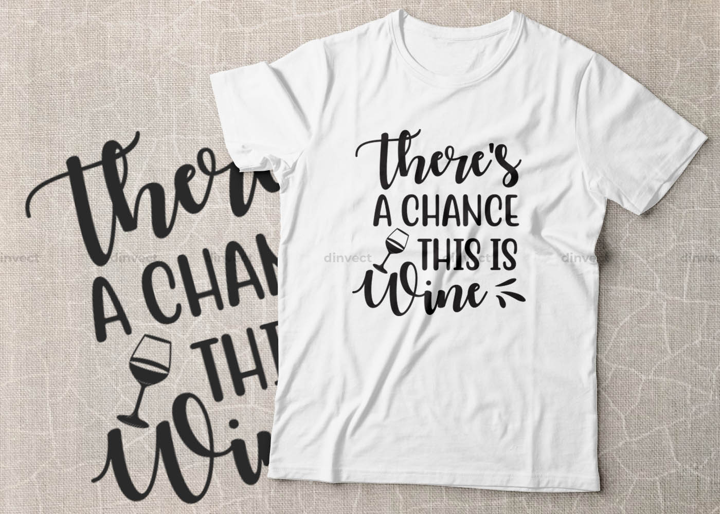 Coffee SVG, Coffee Bundle Svg, Coffee Mug Svg, Funny Coffee Quotes SVG, Mug Design Svg - Theres a chance this is wine -