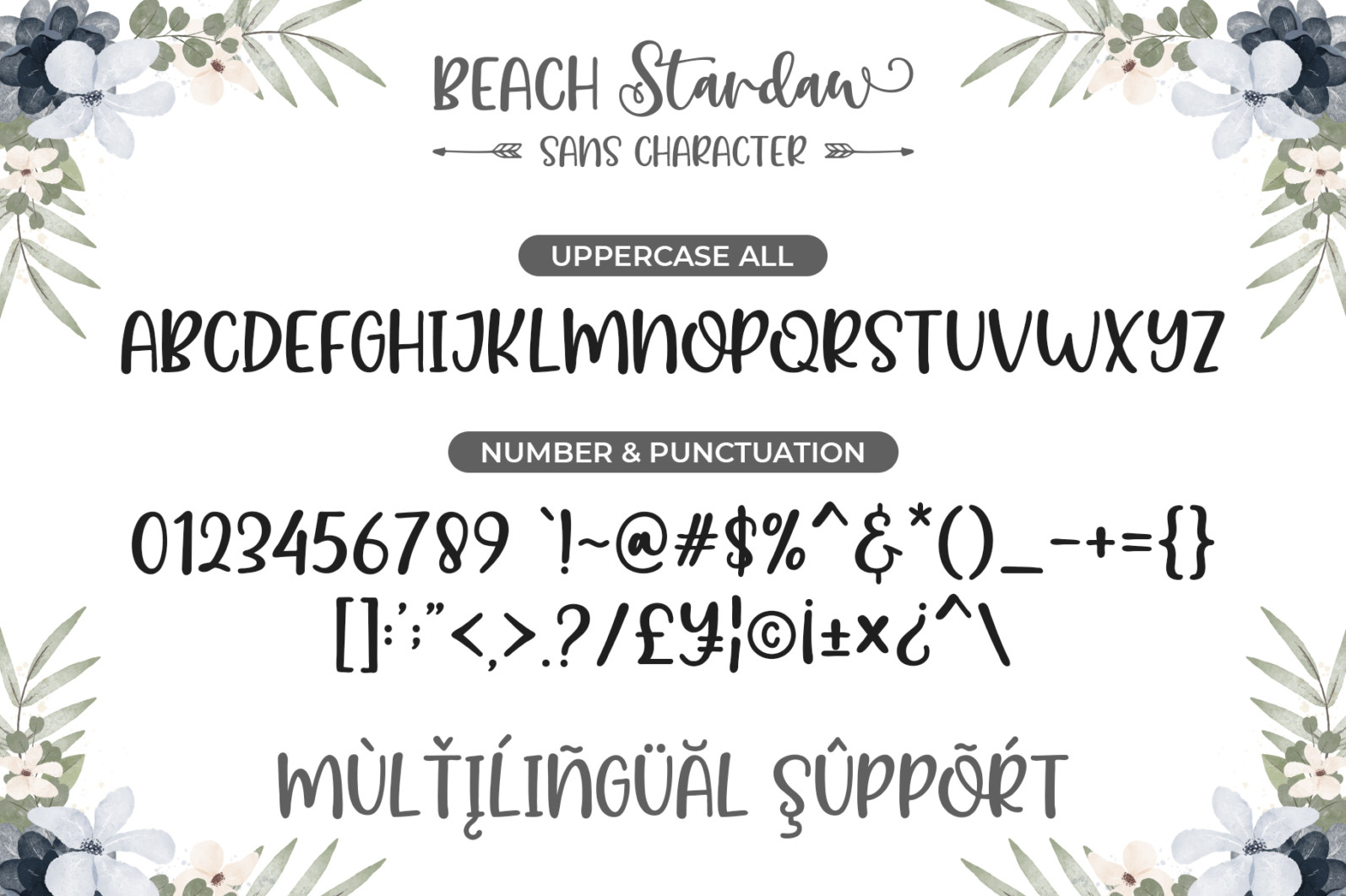 Beach Stardaw - Font Duo With Extras - 08 Preview 2 -