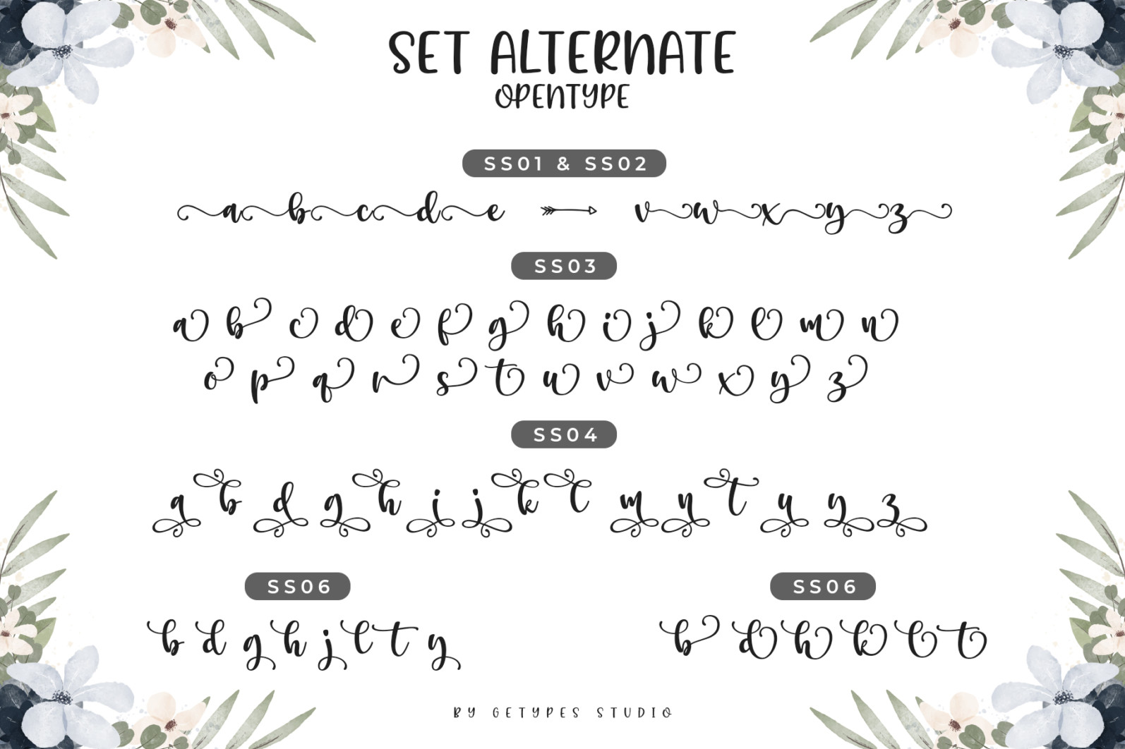 Beach Stardaw - Font Duo With Extras - 10 Preview -