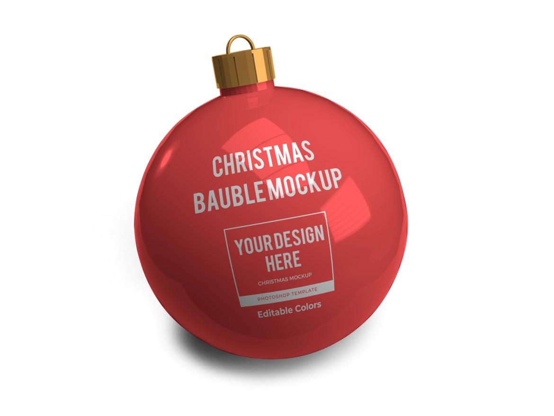 Christmas Bauble Ball Mockup Bundle 2 - 03 12 -