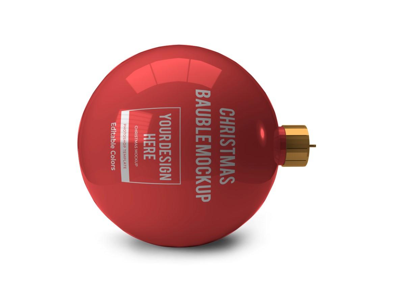 Christmas Bauble Ball Mockup Bundle 2 - 04 11 -