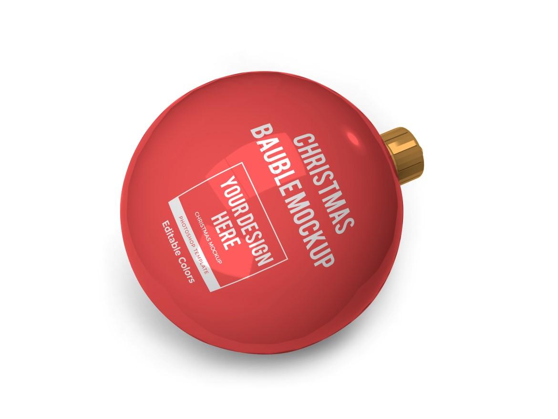 Christmas Bauble Ball Mockup Bundle 2 - 05 11 -