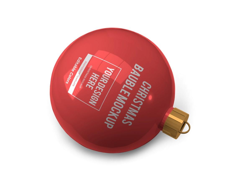Christmas Bauble Ball Mockup Bundle 2 - 06 10 -