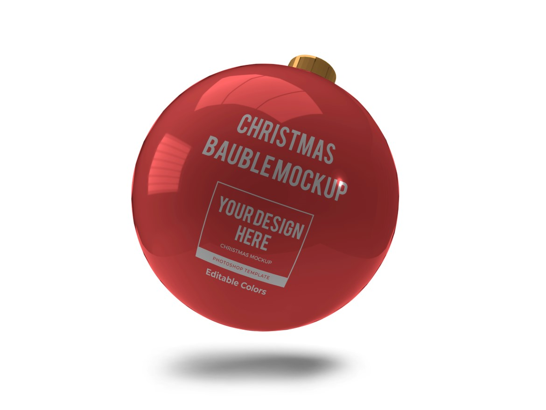 Christmas Bauble Ball Mockup Bundle 2 - 08 10 -