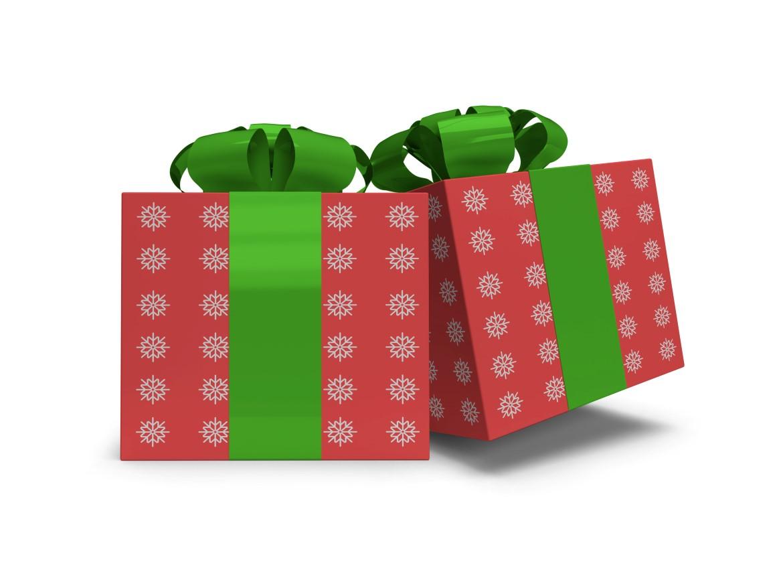Christmas Gift Box Mockup Bundle - 08 11 -
