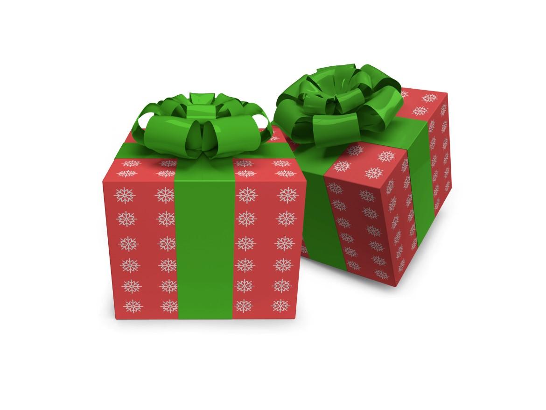 Christmas Gift Box Mockup Bundle - 09 9 -