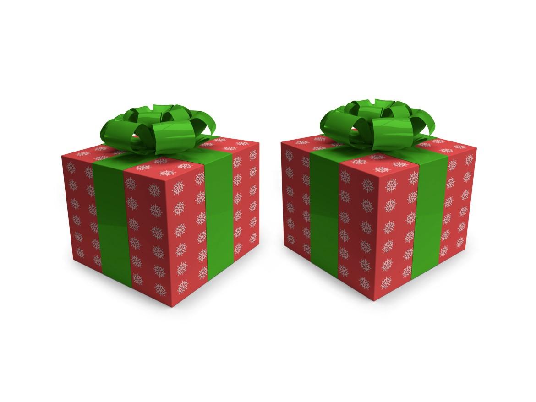 Christmas Gift Box Mockup Bundle - 10 32 -
