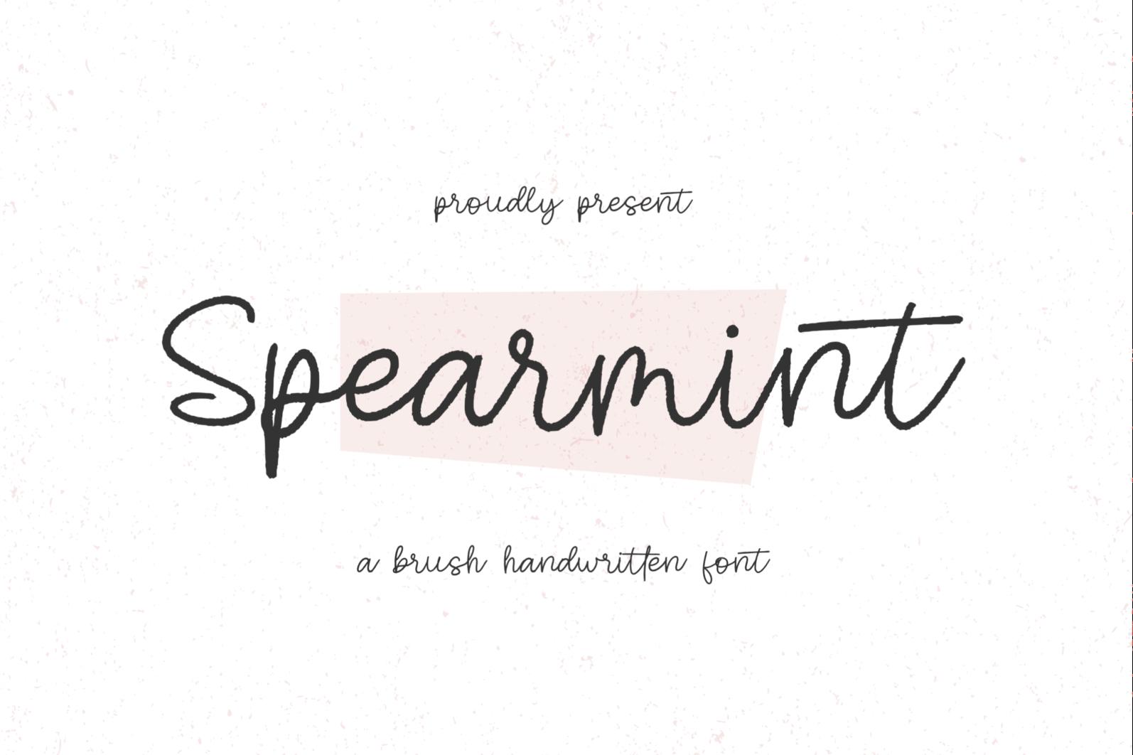 Spearmint - 1 34 -