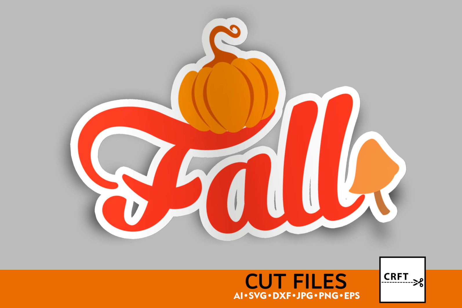 Bundle Lettering Fall Stickers SVG Files For Craft - preview lettering 5 1 scaled -