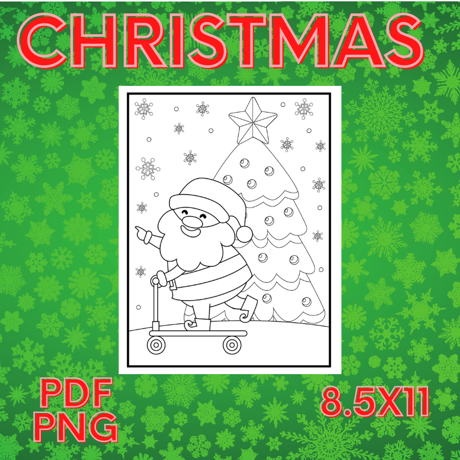 Christmas Coloring Pages for Kids - christmas coloringrrr -