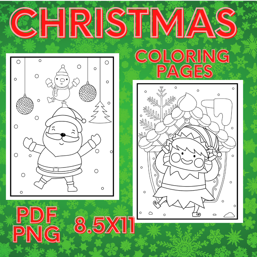 Christmas Coloring Pages for Kids - christmas coloringdjdhhd -