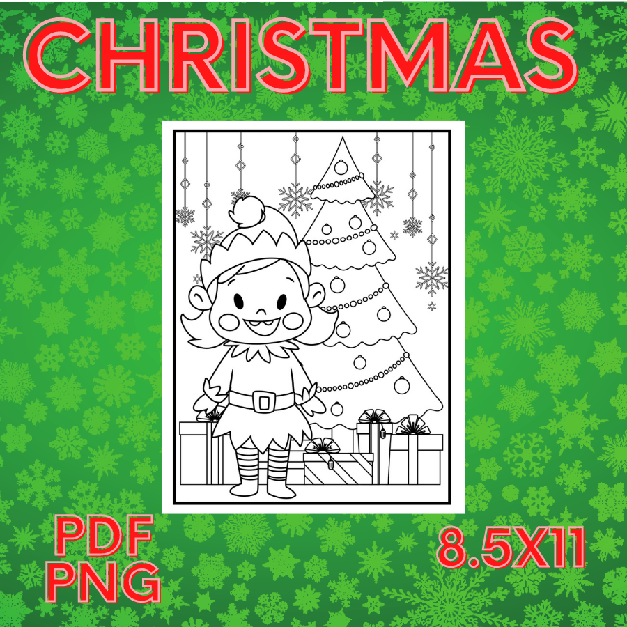 Christmas Coloring Pages for Kids - christmas coloringffff -