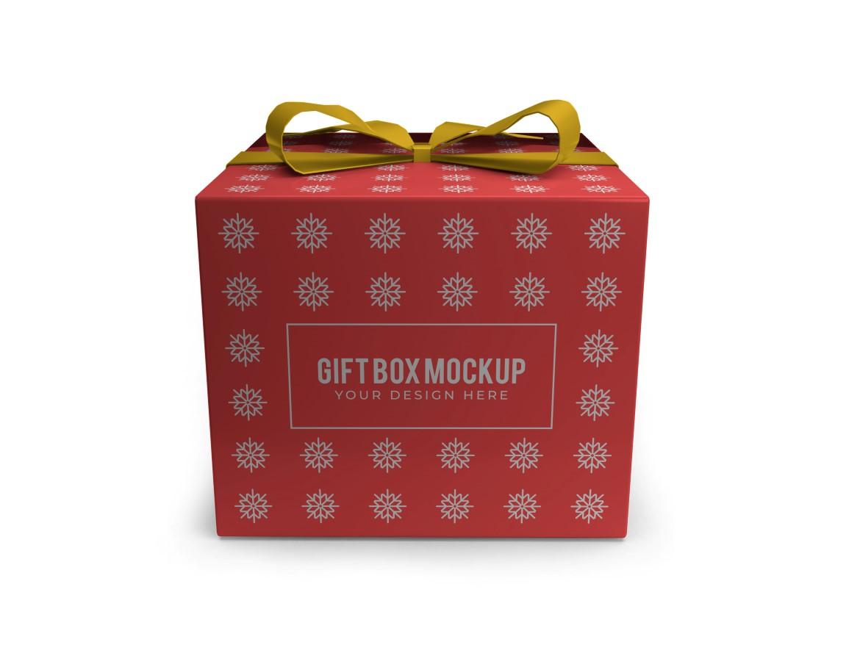 Christmas Gift Box Mockup Bundle Vol 2 - 01 14 -