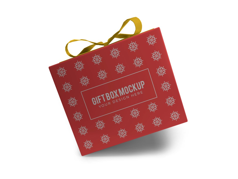 Christmas Gift Box Mockup Bundle Vol 2 - 02 14 -