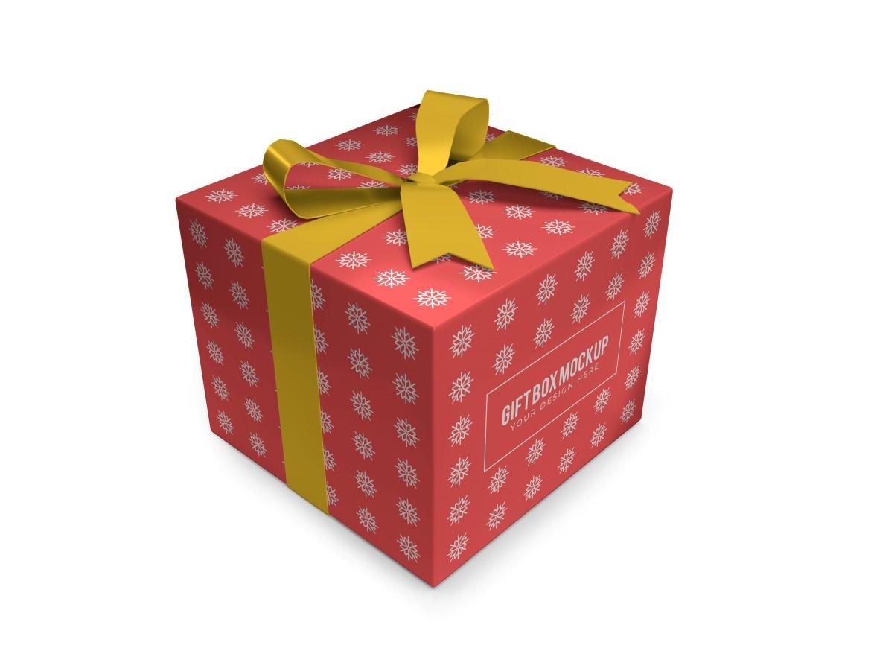 Christmas Gift Box Mockup Bundle Vol 2 - 05 14 -