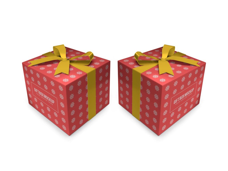 Christmas Gift Box Mockup Bundle Vol 2 - 06 13 -