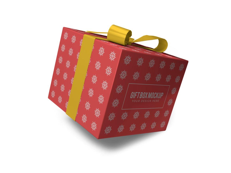 Christmas Gift Box Mockup Bundle Vol 2 - 07 13 -