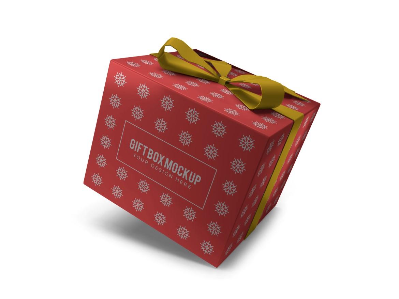 Christmas Gift Box Mockup Bundle Vol 2 - 08 13 -