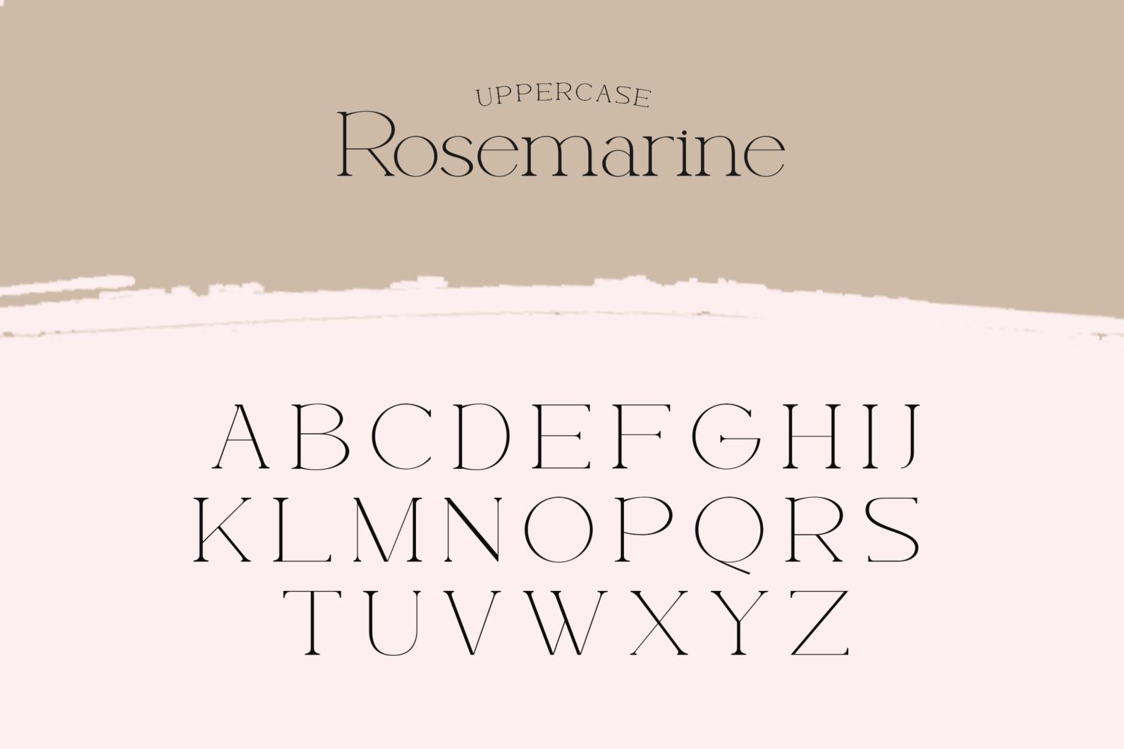 Rosemarine - Rosemarine Fonts 16042507 5 -